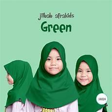 Afrakids Jilbab Anak jilbab anak afrakids green tokoafra
