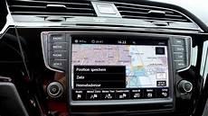 vw touran radio navi 05 vw touran infotainmentsystem die navigation und