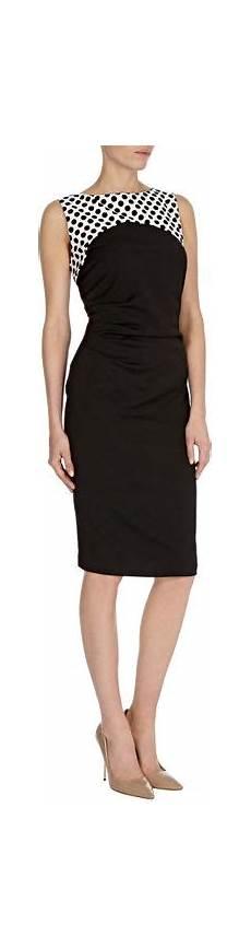 Dress Valerie coast valerie spot dress in black other lyst