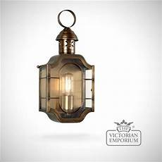 the oval brass wall lantern brass