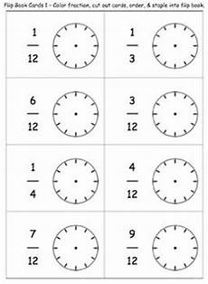 fraction timed worksheets 4125 freebie clock fraction flip book fractions math fractions fraction activities