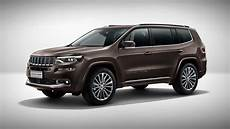 2019 jeep grand commander fully unveiled at beijing motor