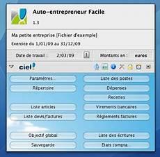 Ciel Facturation Gratuit Ciel Auto Entrepreneur Est Disponible Pour Mac Macgeneration