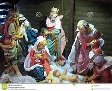 christmas nativity jesus birth three kings stock image