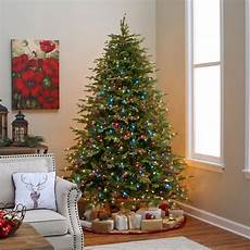 Weihnachtsbaum Led Beleuchtung - new pre lit tree 6 7ft steel base multicolor led