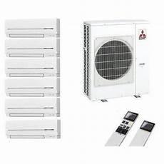 mitsubishi klimaanlage multi split 6 r 228 um inverter 6 x msz