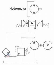 hydraulische antriebe 7 grundschaltungen 4 tec