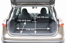 Nissan Qashqai Kofferraumvolumen - adac auto test nissan qashqai 1 2 dig t visia