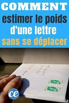Comment Estimer Le Poids D Une Lettre Sans Se D 233 Placer