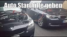 Auto Starthilfe Geben Wie 252 Berbr 252 Cke Ich Richtig