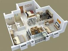 3 bedroomed house plan 25 three bedroom house apartment floor plans