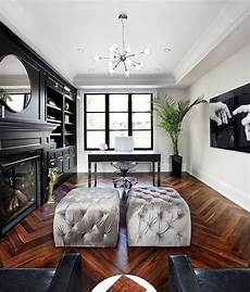 chic home decor 30 black and white home offices that leave you spellbound