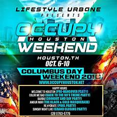 occupy houston weekend flyer design by graphixfly com for