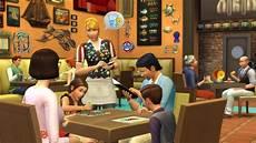 Les Sims 4 Collection Vie Citadine Au Restaurant Kit
