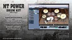 mt power drumkit 2 studio one mt power drumkit 2 free plugin youtube