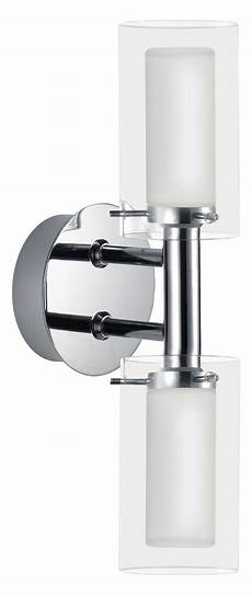 eglo chrome palermo two bulb wall sconce chrome 88194a from palermo collection