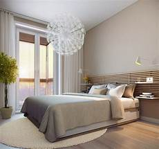 wandfarbe für schlafzimmer modernes schlafzimmer creme wandfarbe und holzlatten