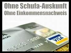 kreditkarte ohne schufa auskunft ohne schufaauskunft