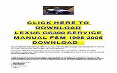 how to download repair manuals 1996 lexus gs spare parts catalogs 2001 lexus gs300 owners manual download honda owners manual