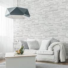 papier peint mur en papier peint intiss 233 brique marbre leroy merlin