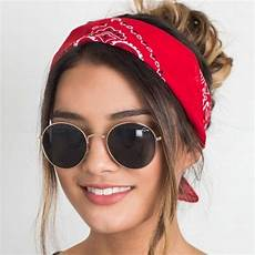 Korea Fashion Hair Accessories Linen Bandana Scarf