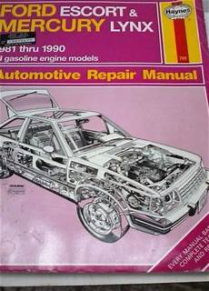 service manuals schematics 1986 mercury lynx transmission control sell haynes ford escort and mercury lynx repair manual motorcycle in crivitz wisconsin united