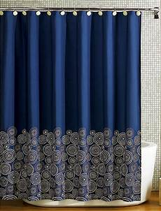 Navy And Gold Curtains by Shower Curtains Em For Marvelous