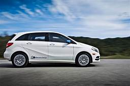 2014 Mercedes Benz B Class Electric Drive In White Side