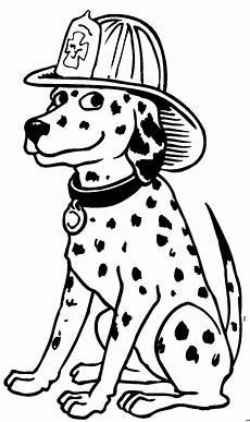 feuerwehrhund ausmalbild malvorlage comics