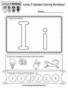 kindergarten letter a worksheets 23374 letter i coloring worksheet free kindergarten