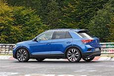 Spyshots Vw T Roc R With Exhaust Likely Has 300 Hp