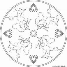Einhorn Ausmalbild Mandala Einhorn Kostenlose Mandala Ausmalbilder Zum