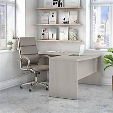 home office furniture ireland office by kathy ireland 174 echo l shaped bow front desk