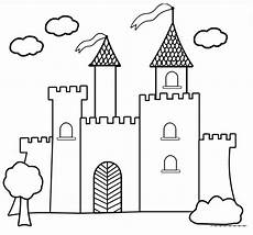 disney princess castle coloring pages to