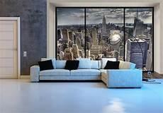 wallpaper photo new york skyline wall mural decor