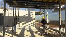 concrete floor construction using pre assembled table forms youtube