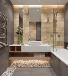 salle de bain gris bois salle de bain moderne grise avec carrelage mural