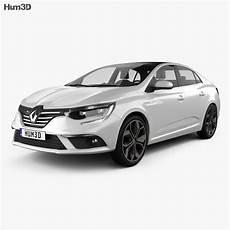 Renault Megane Model renault megane sedan 2016 3d model vehicles on hum3d
