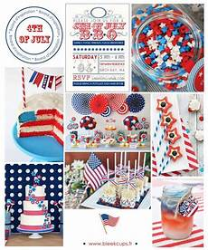 deco theme usa decoration de table americaine