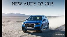 New Audi Q7 2015 Official Presentation