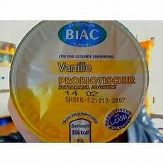 Biac Vanille Probiotischer Fettarmer Joghurt 22116536