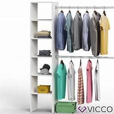 Begehbarer Kleiderschrank Regal - vicco kleiderschrank offen begehbar regal k real
