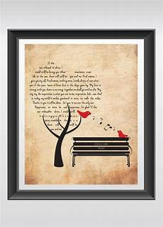 Wedding Song Gift Ideas personalized wedding gift wedding song gift anniversary