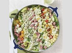 cold roast beef salad with horseradish dressing_image