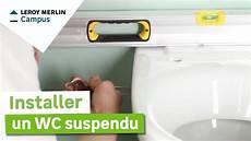 comment installer un wc suspendu leroy merlin