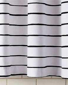 white striped shower curtain jamesport black and white stripe shower curtain