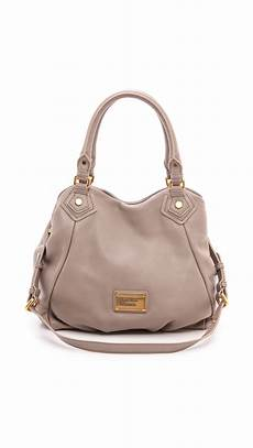 lyst marc by marc classic q fran bag cement in gray