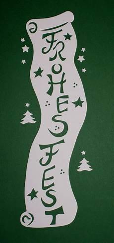 Fensterbilder Weihnachten Vorlagen Tonkarton Fensterbild Schriftrolle Frohes Tonkarton Filigranes