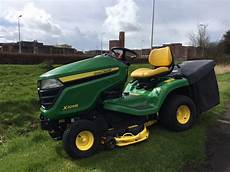 used second deere x305r ride on tractor