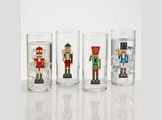 Glass Nutcracker Tumblers, Set of 4   World Market